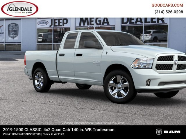 2019 Ram 1500 Quad Cab 4x2,  Pickup #4K6008 - photo 11