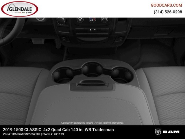 2019 Ram 1500 Quad Cab 4x2,  Pickup #4K6008 - photo 16