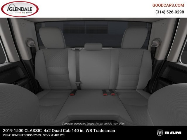 2019 Ram 1500 Quad Cab 4x2,  Pickup #4K6008 - photo 19