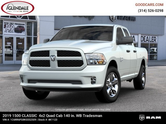 2019 Ram 1500 Quad Cab 4x2,  Pickup #4K6008 - photo 4