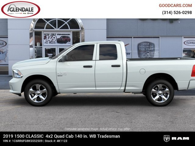 2019 Ram 1500 Quad Cab 4x2,  Pickup #4K6008 - photo 5