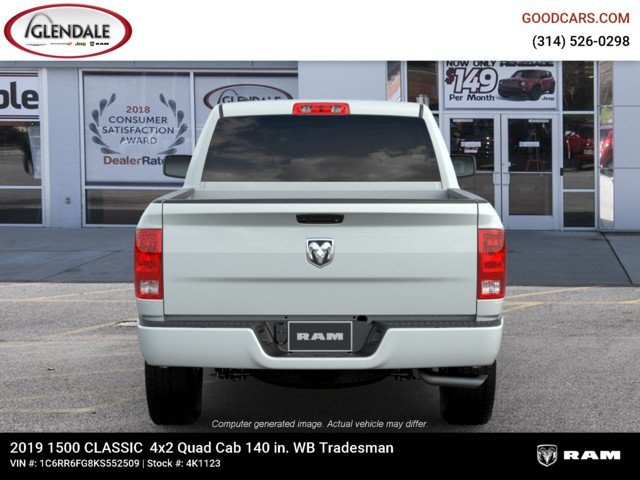 2019 Ram 1500 Quad Cab 4x2,  Pickup #4K6008 - photo 7