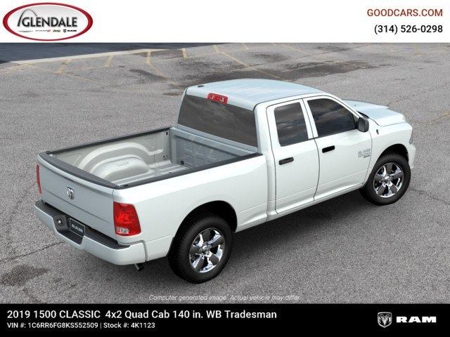 2019 Ram 1500 Quad Cab 4x2,  Pickup #4K6008 - photo 9