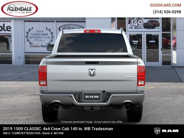 2019 Ram 1500 Crew Cab 4x4,  Pickup #4K6009 - photo 13