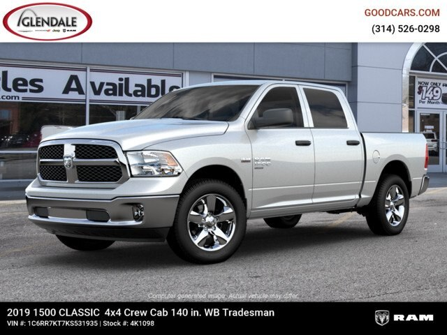 2019 Ram 1500 Crew Cab 4x4,  Pickup #4K6009 - photo 3