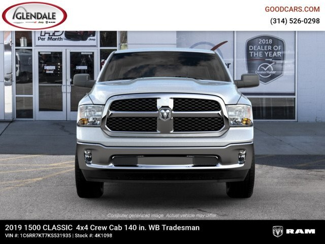 2019 Ram 1500 Crew Cab 4x4,  Pickup #4K6009 - photo 5