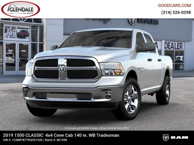 2019 Ram 1500 Crew Cab 4x4,  Pickup #4K6009 - photo 6