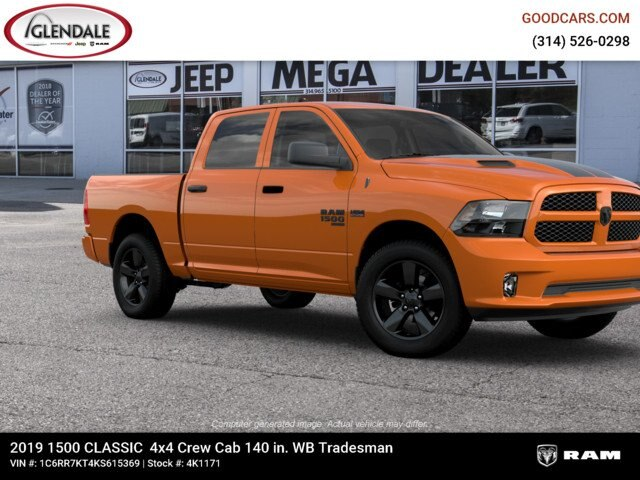 2019 Ram 1500 Crew Cab 4x4,  Pickup #4K6012 - photo 11