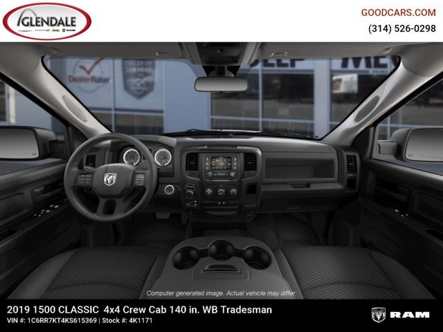 2019 Ram 1500 Crew Cab 4x4,  Pickup #4K6012 - photo 15