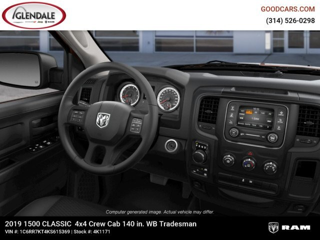 2019 Ram 1500 Crew Cab 4x4,  Pickup #4K6012 - photo 17