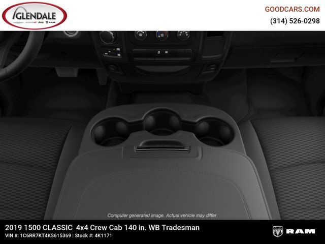 2019 Ram 1500 Crew Cab 4x4,  Pickup #4K6012 - photo 20