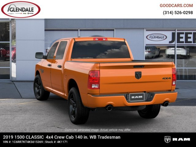 2019 Ram 1500 Crew Cab 4x4,  Pickup #4K6012 - photo 6