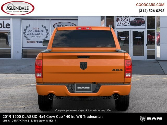 2019 Ram 1500 Crew Cab 4x4,  Pickup #4K6012 - photo 7