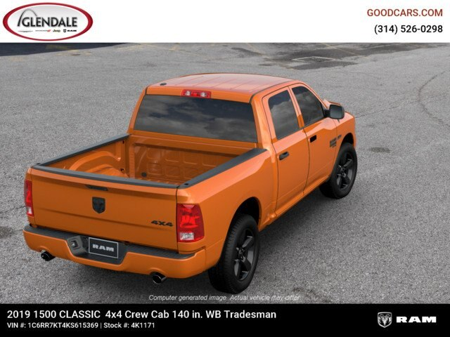 2019 Ram 1500 Crew Cab 4x4,  Pickup #4K6012 - photo 8