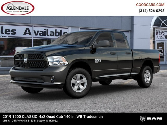 2019 Ram 1500 Quad Cab 4x2,  Pickup #4K6019 - photo 1