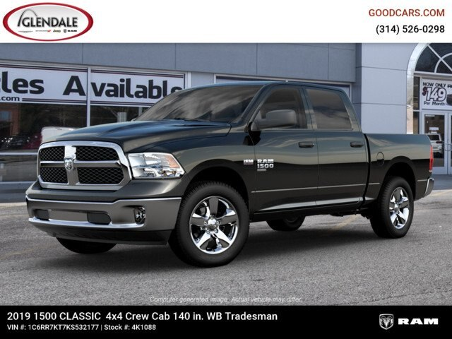 2019 Ram 1500 Crew Cab 4x4,  Pickup #4K6020 - photo 1
