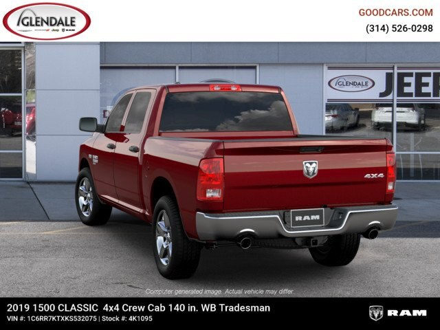 2019 Ram 1500 Crew Cab 4x4,  Pickup #4K6021 - photo 1