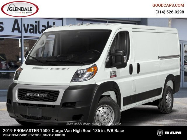 2019 ProMaster 1500 High Roof FWD,  Empty Cargo Van #4K8000 - photo 1