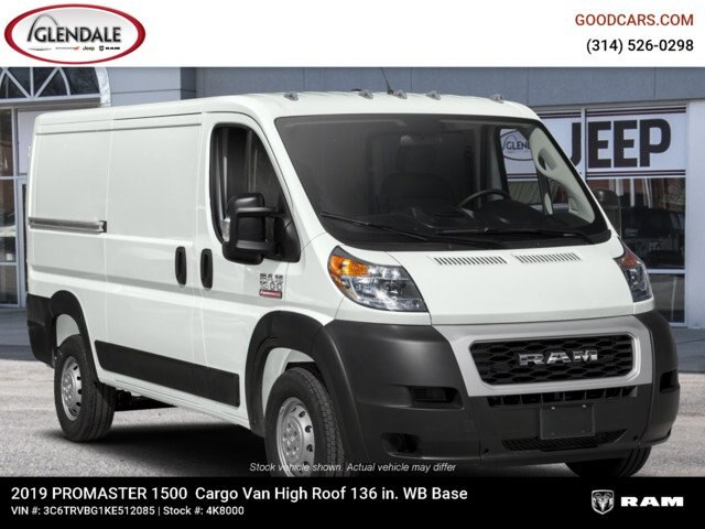2019 ProMaster 1500 High Roof FWD,  Empty Cargo Van #4K8000 - photo 6