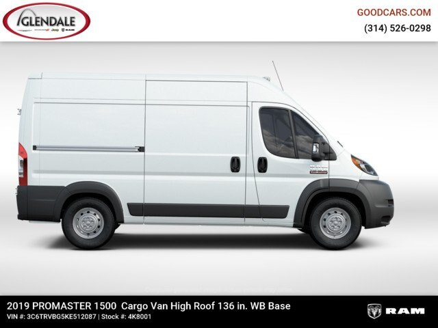 2019 ProMaster 1500 High Roof FWD,  Empty Cargo Van #4K8001 - photo 18