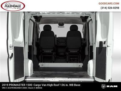 2019 ProMaster 1500 High Roof FWD,  Empty Cargo Van #4K8004 - photo 14