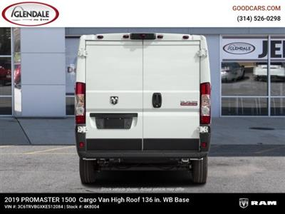 2019 ProMaster 1500 High Roof FWD,  Empty Cargo Van #4K8004 - photo 10