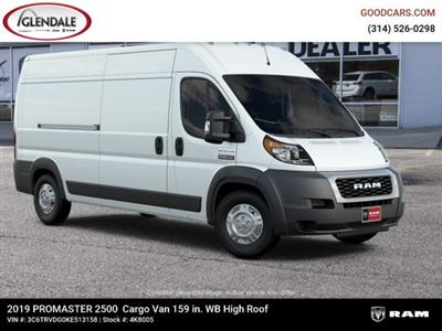 2019 ProMaster 2500 High Roof FWD,  Empty Cargo Van #4K8005 - photo 12