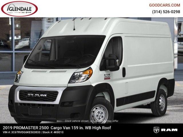 2019 ProMaster 2500 High Roof FWD,  Empty Cargo Van #4K8010 - photo 1