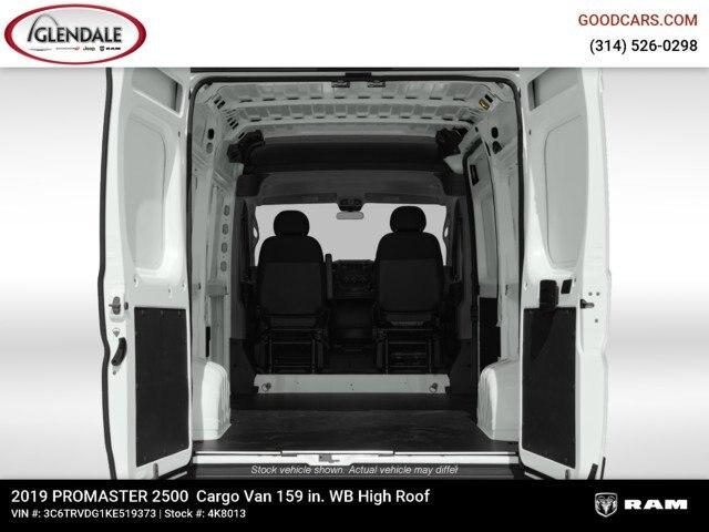 2019 ProMaster 2500 High Roof FWD,  Empty Cargo Van #4K8013 - photo 2