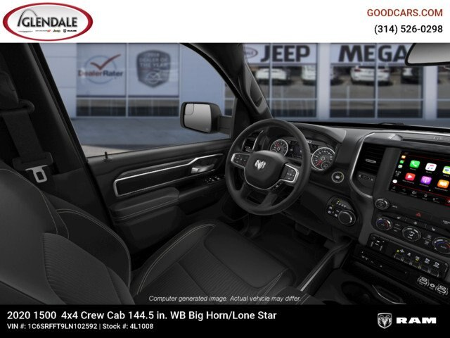 2020 Ram 1500 Crew Cab 4x4,  Pickup #4L1008 - photo 17