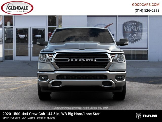 2020 Ram 1500 Crew Cab 4x4,  Pickup #4L1008 - photo 3