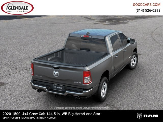 2020 Ram 1500 Crew Cab 4x4,  Pickup #4L1008 - photo 8