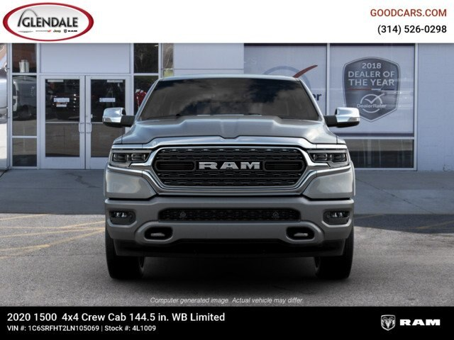 2020 Ram 1500 Crew Cab 4x4,  Pickup #4L1009 - photo 3