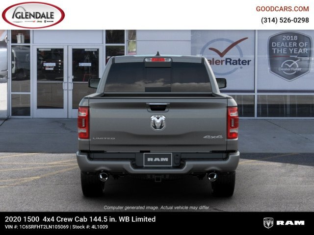 2020 Ram 1500 Crew Cab 4x4,  Pickup #4L1009 - photo 7