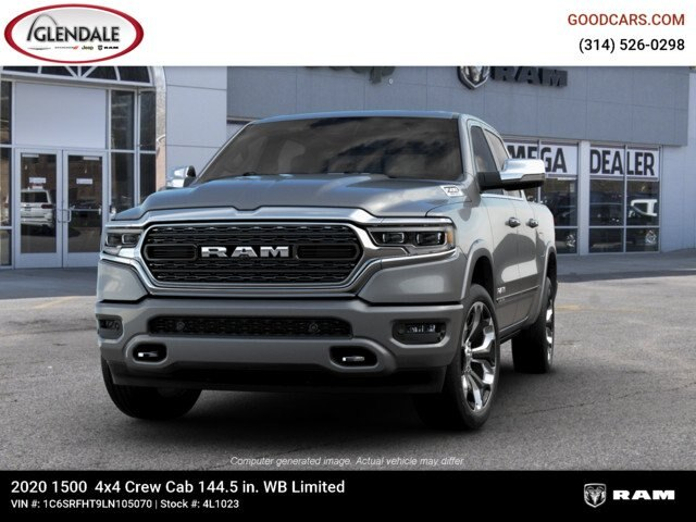 2020 Ram 1500 Crew Cab 4x4,  Pickup #4L1023 - photo 4