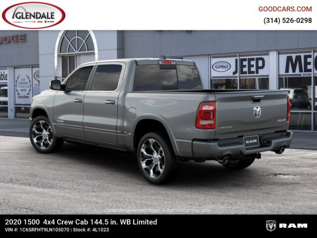 2020 Ram 1500 Crew Cab 4x4,  Pickup #4L1023 - photo 2
