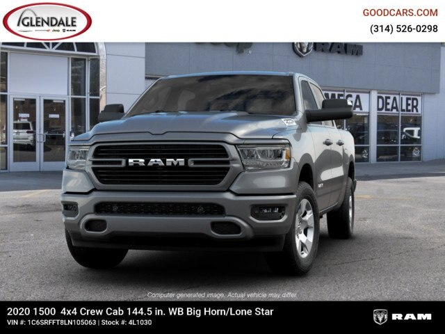 2020 Ram 1500 Crew Cab 4x4,  Pickup #4L1030 - photo 4