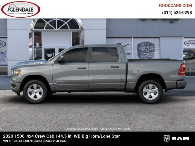 2020 Ram 1500 Crew Cab 4x4,  Pickup #4L1030 - photo 5