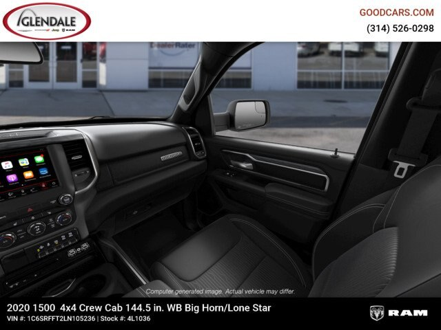 2020 Ram 1500 Crew Cab 4x4,  Pickup #4L1036 - photo 17