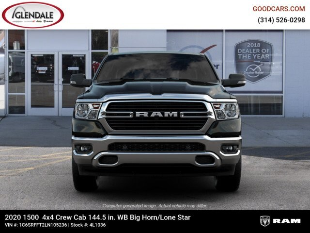 2020 Ram 1500 Crew Cab 4x4,  Pickup #4L1036 - photo 3