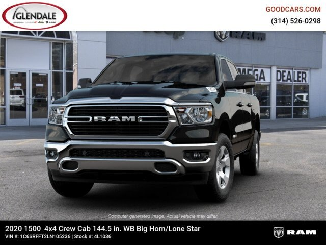 2020 Ram 1500 Crew Cab 4x4,  Pickup #4L1036 - photo 4