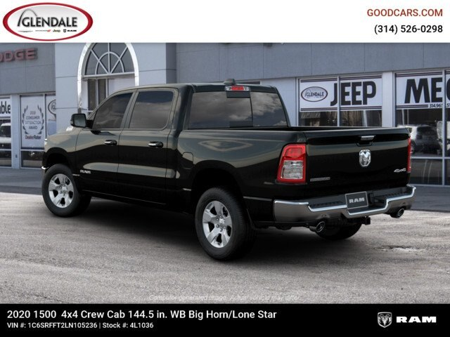 2020 Ram 1500 Crew Cab 4x4,  Pickup #4L1036 - photo 2