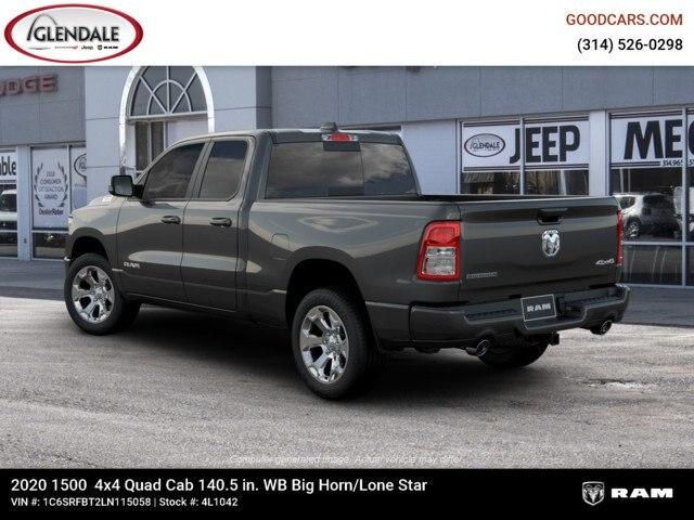 2020 Ram 1500 Quad Cab 4x4,  Pickup #4L1042 - photo 2