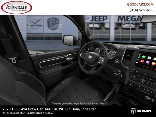 2020 Ram 1500 Crew Cab 4x4,  Pickup #4L1057 - photo 18