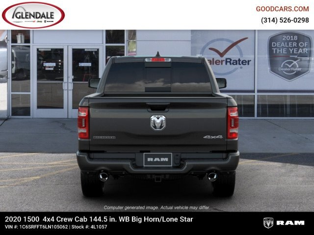 2020 Ram 1500 Crew Cab 4x4,  Pickup #4L1057 - photo 7