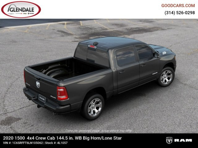 2020 Ram 1500 Crew Cab 4x4,  Pickup #4L1057 - photo 9