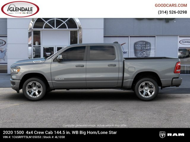 2020 Ram 1500 Crew Cab 4x4,  Pickup #4L1058 - photo 5