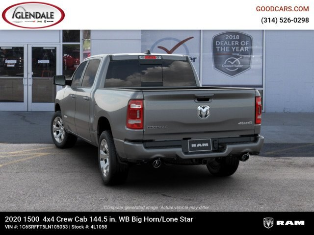 2020 Ram 1500 Crew Cab 4x4,  Pickup #4L1058 - photo 6