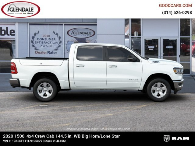 2020 Ram 1500 Crew Cab 4x4,  Pickup #4L1061 - photo 10