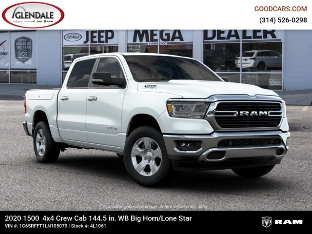 2020 Ram 1500 Crew Cab 4x4,  Pickup #4L1061 - photo 11